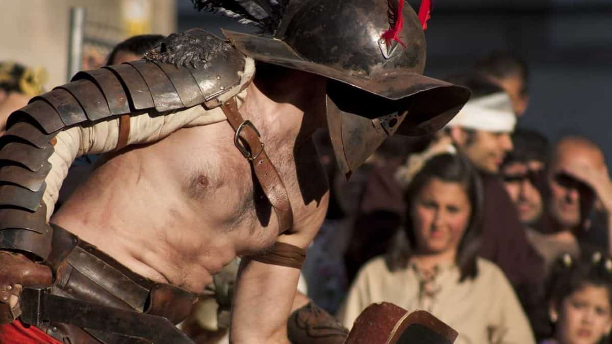 Roman Gladiators were NOT meat-eaters!