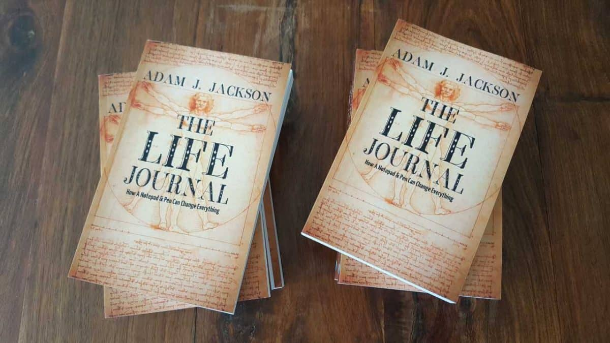 Review copies of The Life Journal have arrived